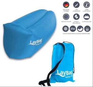 LayBag - Liegesack / blau