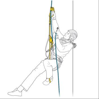 4SRT - Floop Trittschlinge für Kletterschuh