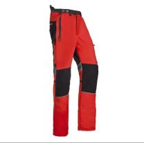 SIP - Innovation II Schnittschutzhose/XS/rot-grau