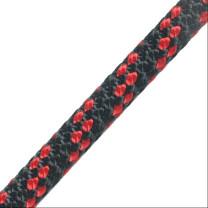 Sirius 8 mm schwarz/ rot