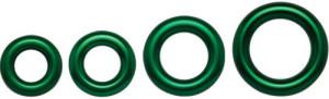 DMM - Aluring grün / 34 mm