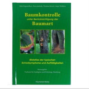 """Buch """"Baumkontrolle unter Berücksichtigung der Baumart"""""""