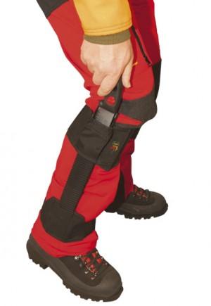 FTC - Velcrofit - Beinhalter f. schmale Handsägen bis 33 cm
