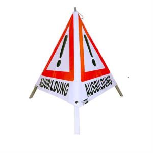 Warnpyramide Ausbildung ///