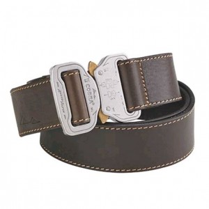 AustriAlpin - Leather Belt COBRA38, braun-poliert /Gr.XS
