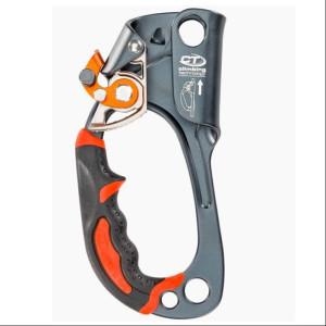 CT - Quick up+ Handsteigklemme, links (silbergrau)