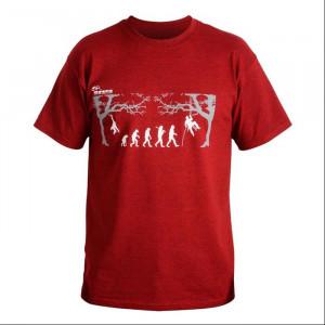 DMM - T-Shirt Arb-evolution/rot/XL