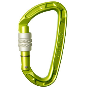 Edelrid Pure Screw green Schraubkarabiner