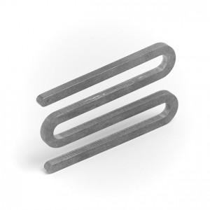 Spangen-Befestigung für Gewebe-Absperrband (einzeln)