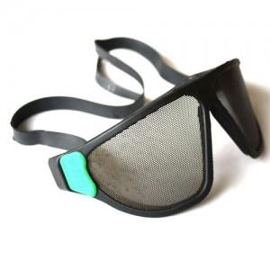 Mesh-Goggles Schutzbrille mit feinem Lochblech