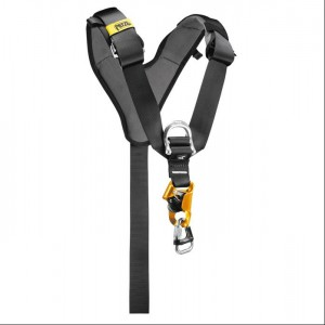 Petzl - Top Croll Brustgurt mit Bruststeigklemme