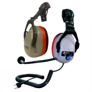 Stein - Helmfunk-Gehörschutz-Kombiset