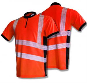 Stein - T-Shirt/orange-neon/M