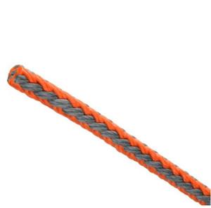 Teufelberger - T-Rex 9.5mm, grau orange / Meterware