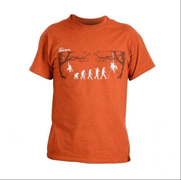 DMM - T-Shirt Arb-evolution/orange/M