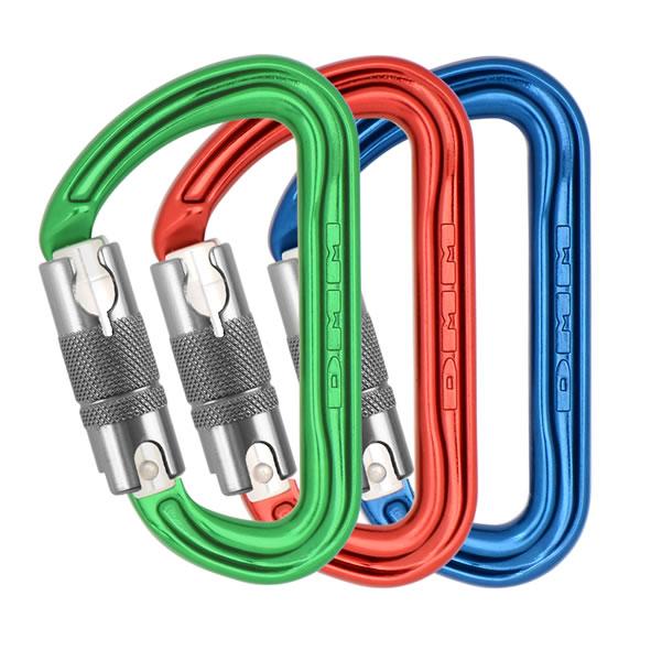 DMM - Shadow Locksafe 3er-Pack (rot/grün/blau)