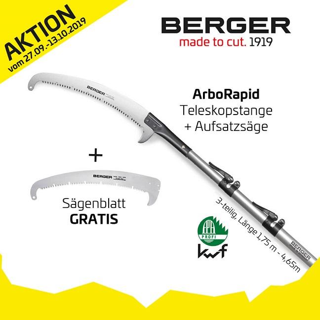 Berger Aktion vom 27.09.-13.10.