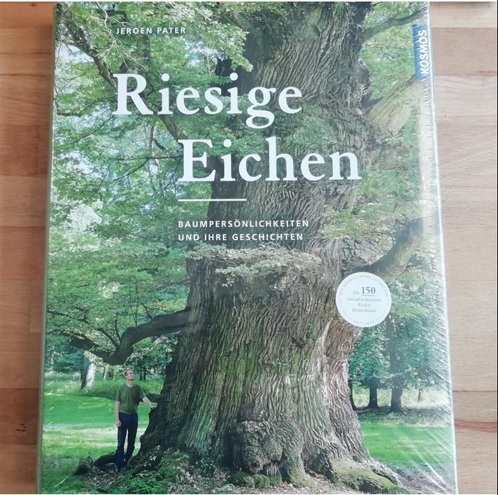 """Buch """"Riesige Eichen"""" von Jeroen Pater"""