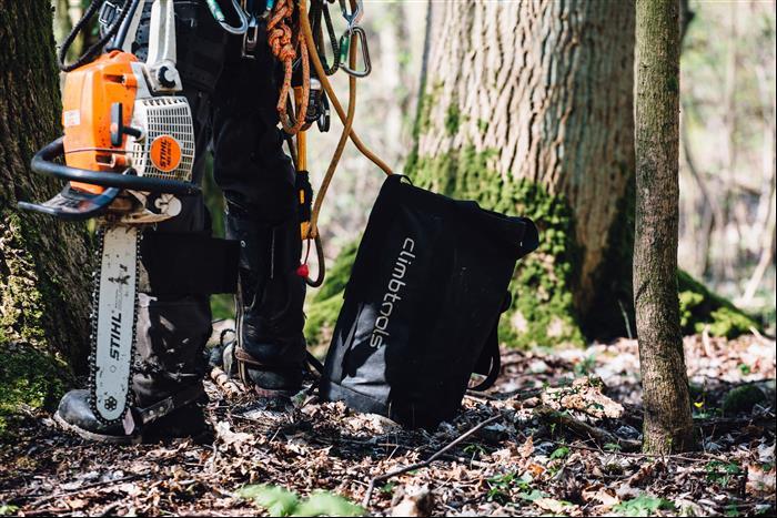 Tree Runner Klettergurt : Climb x mini wall bag mit climbtools logo 1919.102