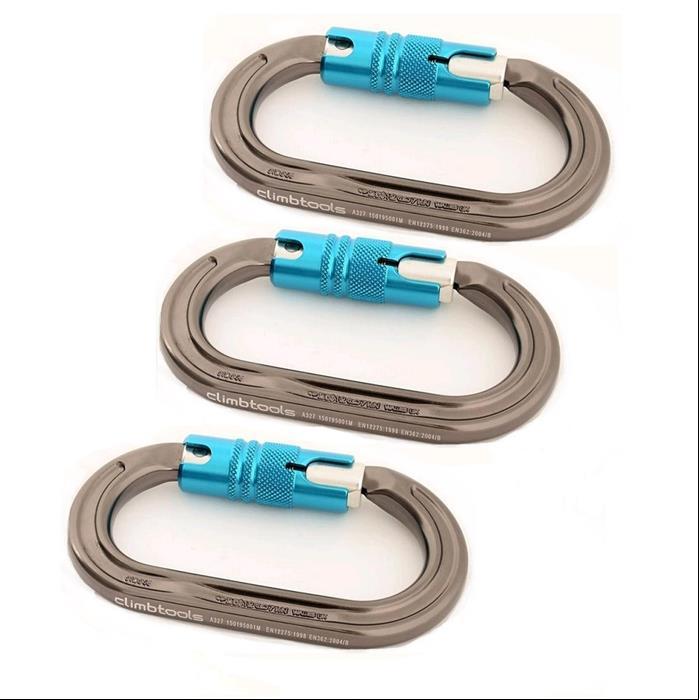 DMM Ultra-O Locksafe 3er-Pack (climbtools)
